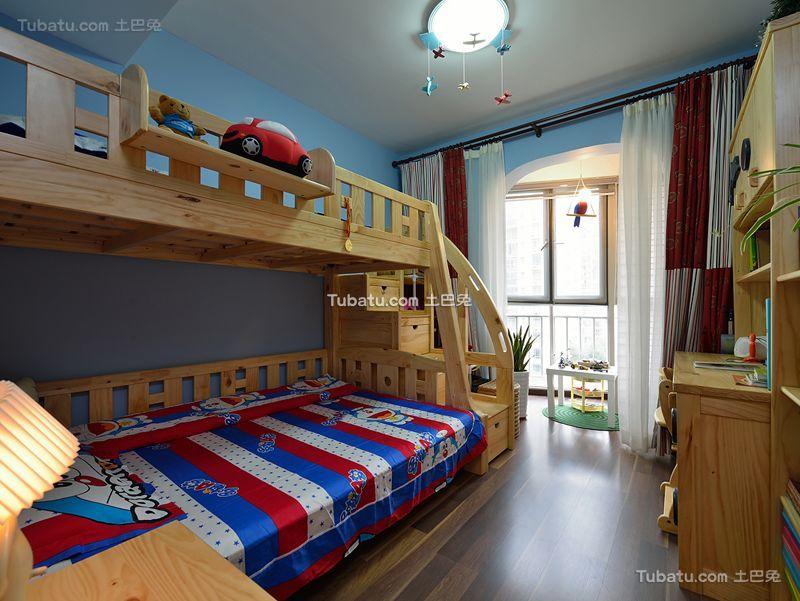 美式风格家居儿童房设计装修效果图