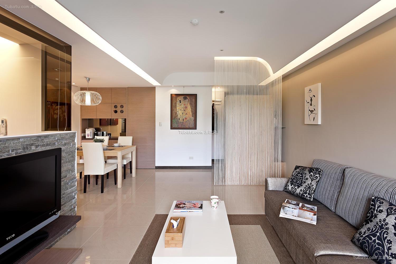 简约素雅家装风格客厅设计