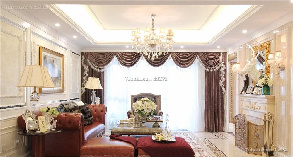 时尚复古欧式三居装潢大全