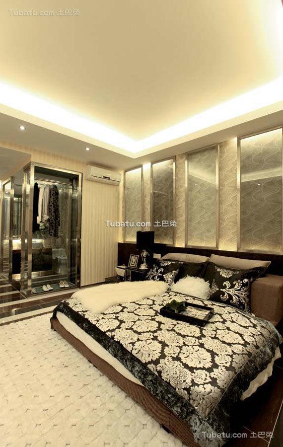 新中式家居卧室设计
