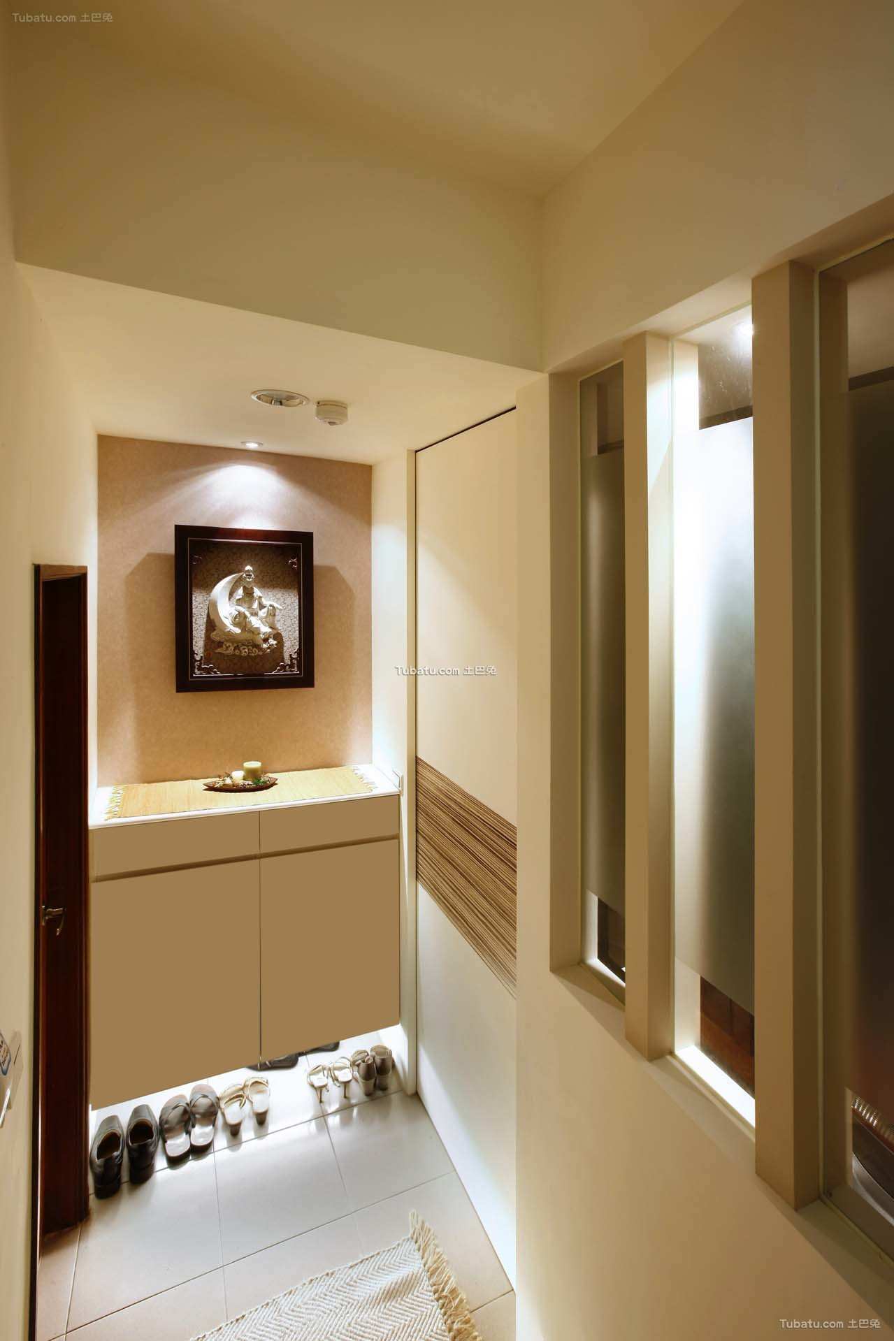 简约现代家装风格玄关设计