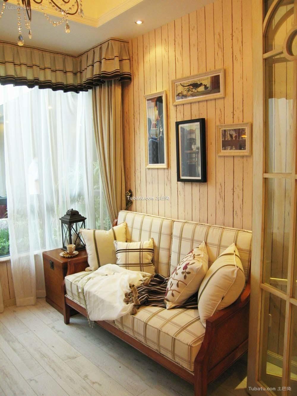 新古典风格设计家居沙发装修图片