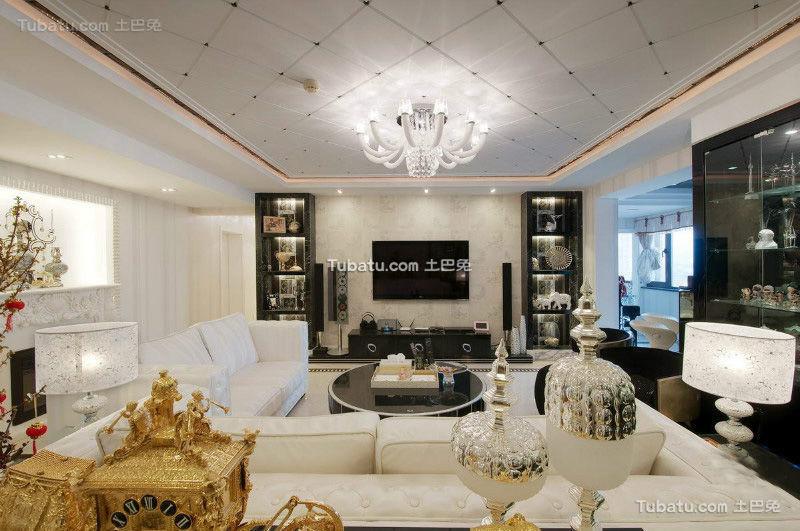 古典简欧客厅装修大全