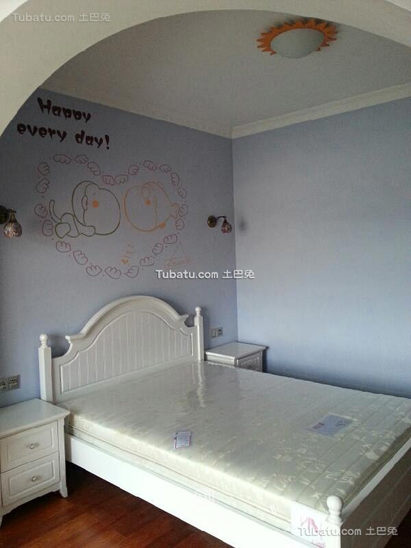 地中海风格设计小卧室效果图片