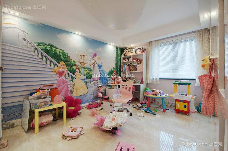 现代小孩儿童房大全