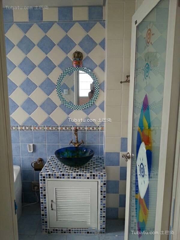 地中海风格设计家居卫生间效果图片
