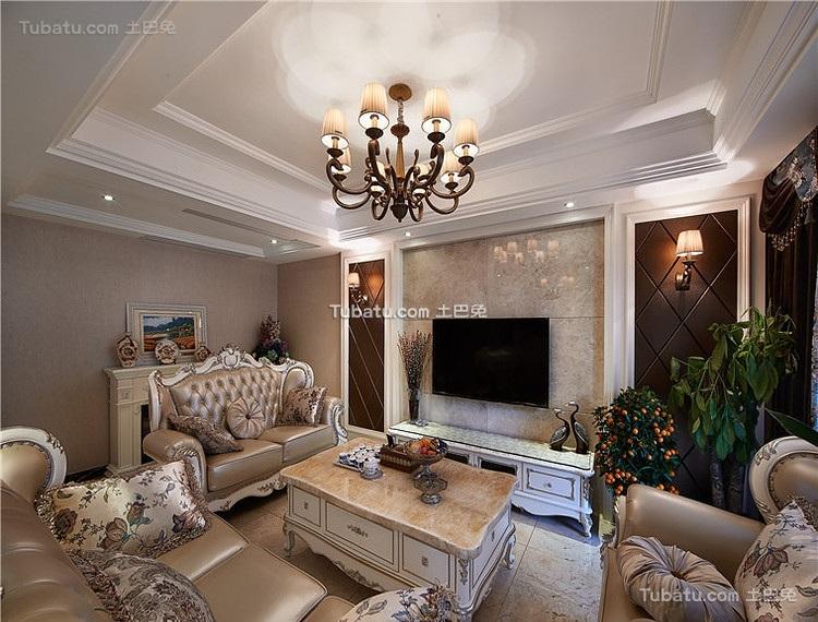 甜美欧式复式家装案例