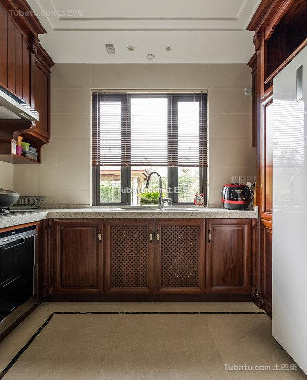 美式风格厨房设计大全