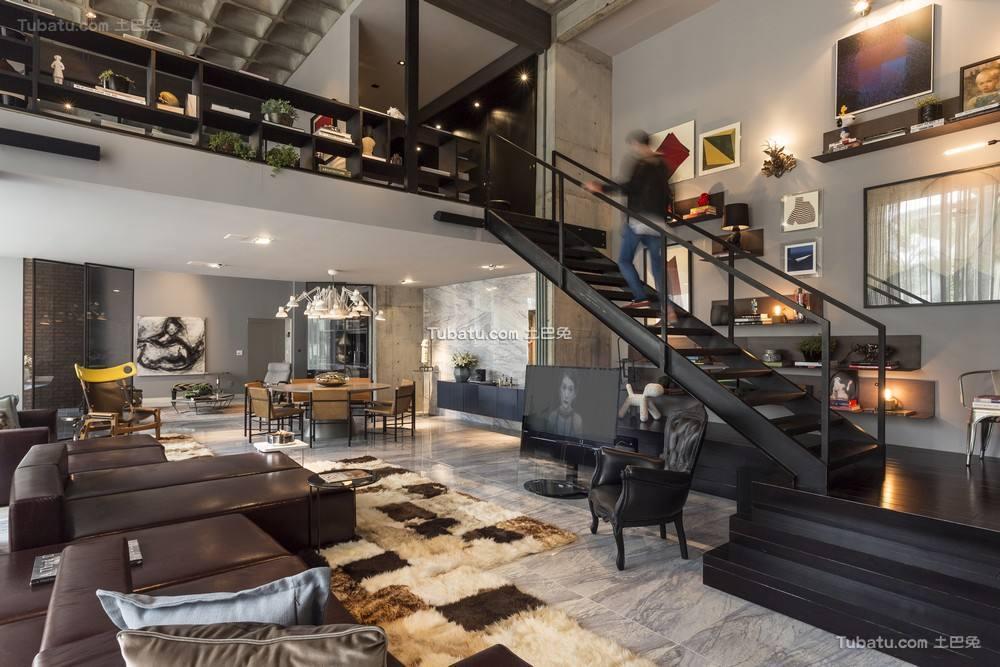 摩登后现代loft设计欣赏