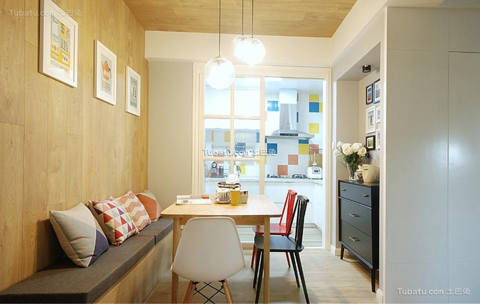 现代简约设计室内餐厅装修图片