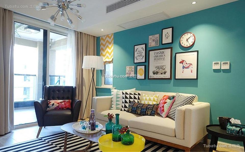 最新现代简约设计客厅装修图片