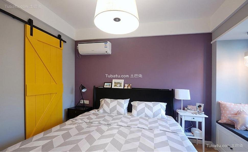 现代简约设计室内卧室装修图片欣赏