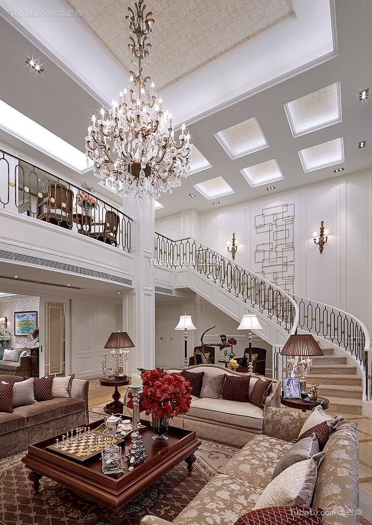 复古时尚欧式别墅装饰欣赏