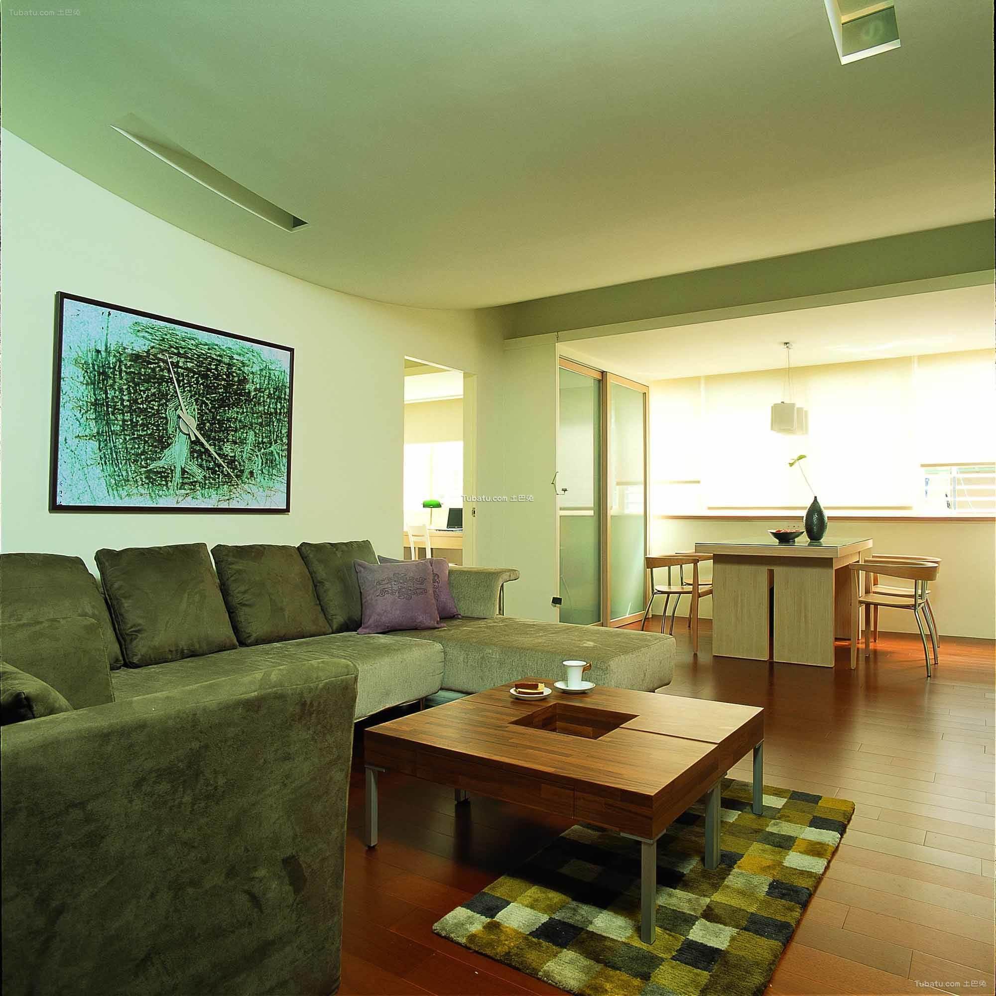 现代简约设计风格客厅欣赏