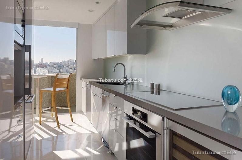 现代室内厨房装饰设计效果图