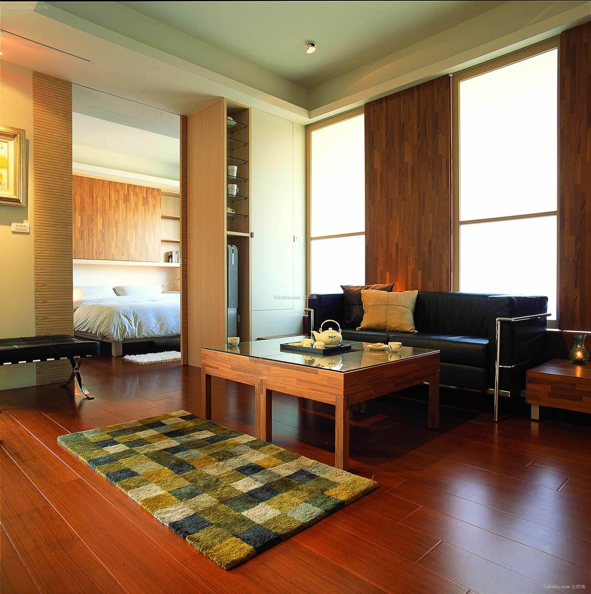现代简约设计风格二居室
