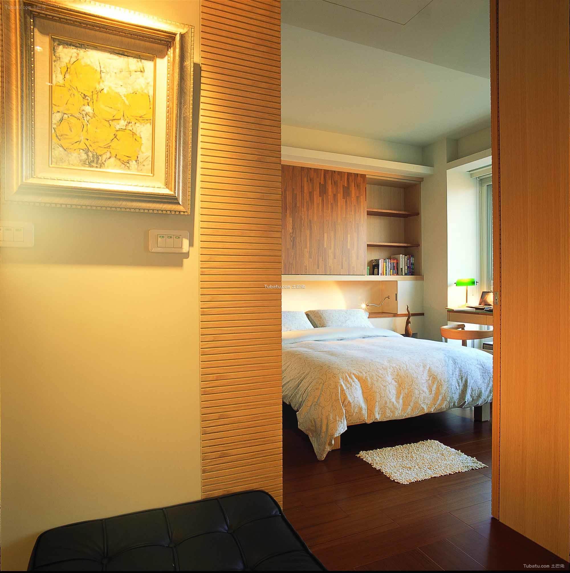 现代简约设计风格卧室