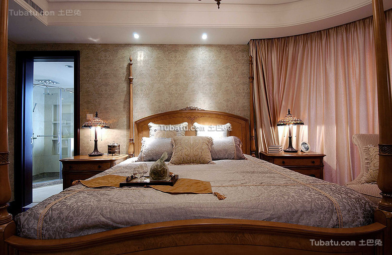 唯美美式卧室大全