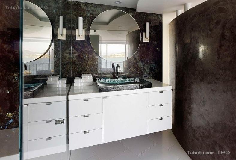 现代家装卫生间设计效果图欣赏