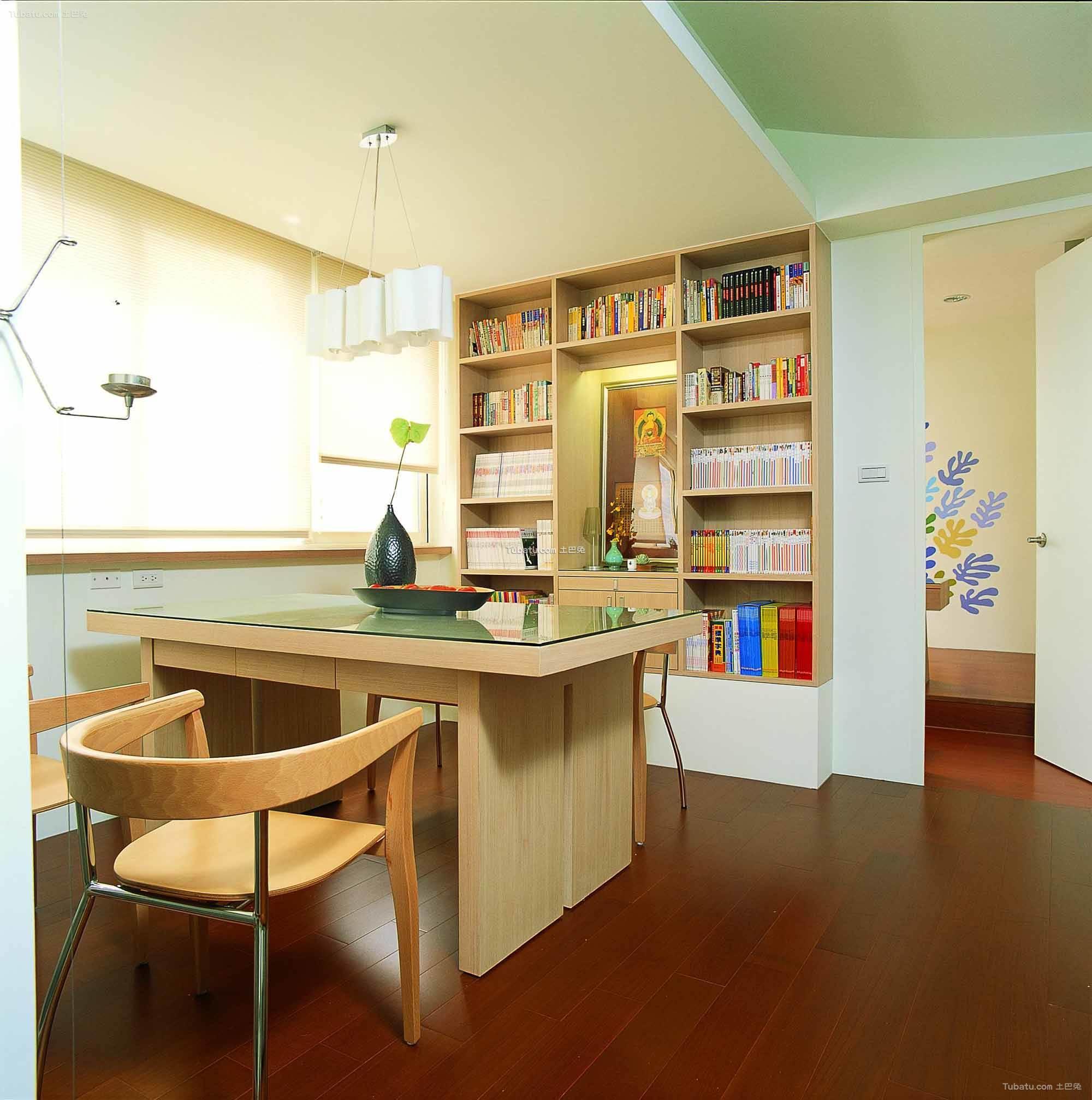 现代简约设计风格书房欣赏