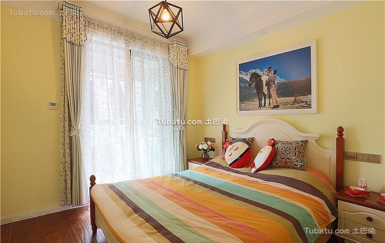 宜家风格美式装修卧室设计