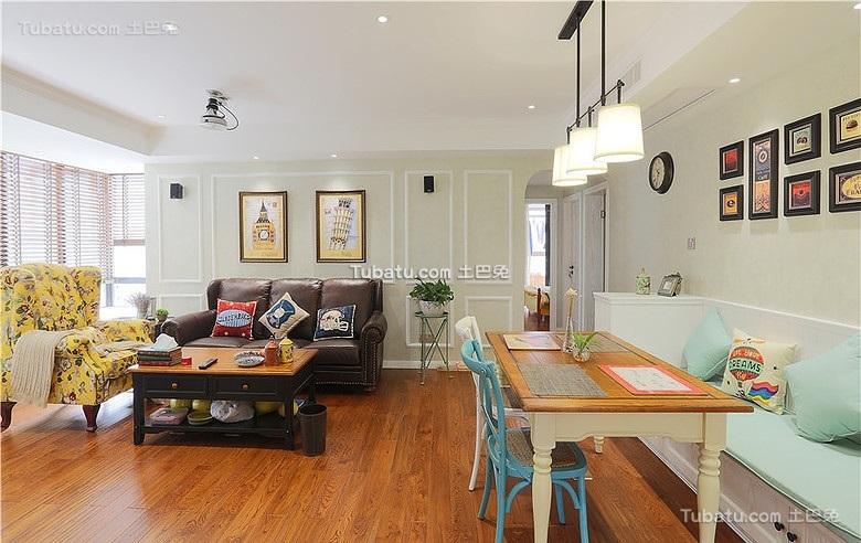 宜家风格美式装修二居室设计