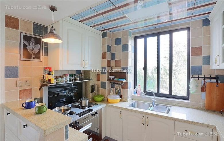 宜家风格美式装修厨房设计