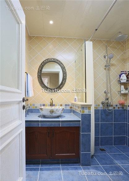 宜家风格美式装修卫生间设计