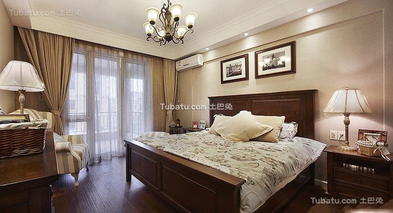 美式田园风光卧室设计