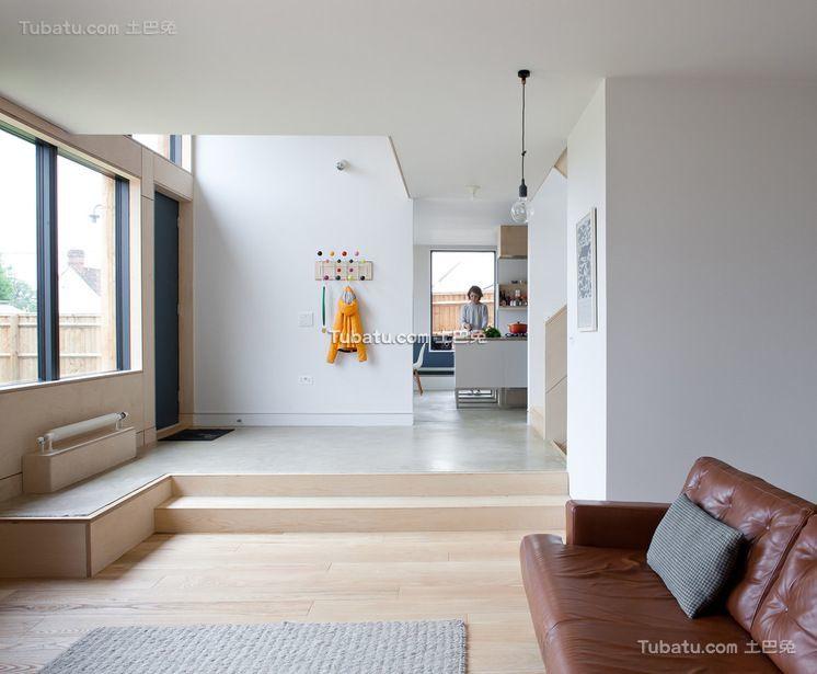 简约温馨公寓室内休闲区效果图