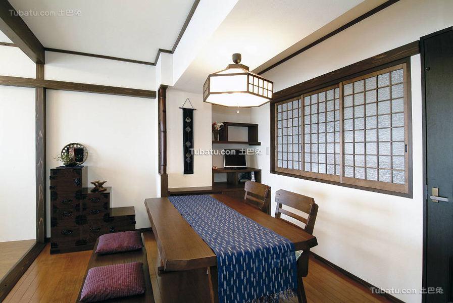 日式简约清新风格餐厅设计