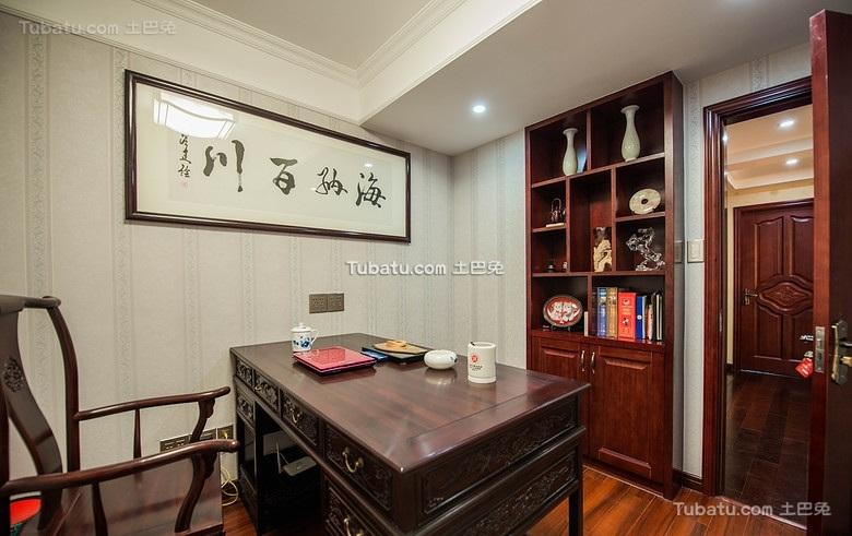 中式典雅书房装修