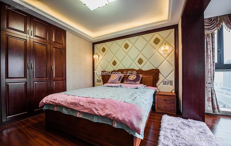 中式卧室设计效果图欣赏