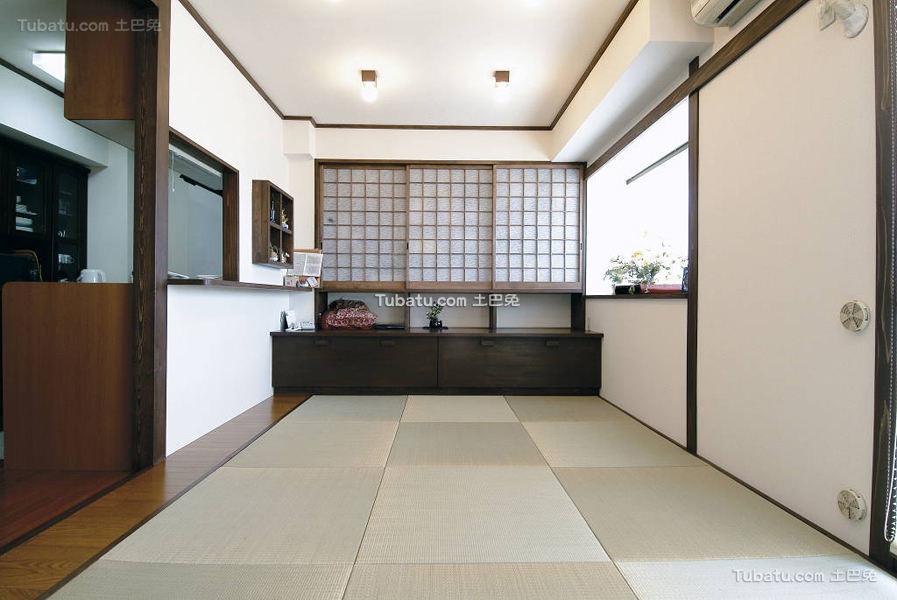 日式简约清新风格一居室设计