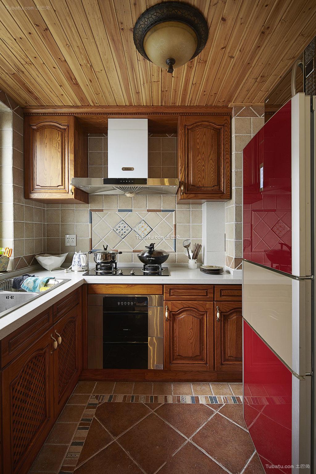 地中海风格设计室内厨房装修图片