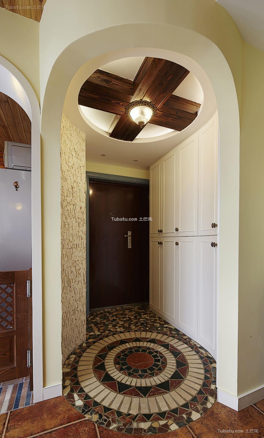 地中海风格设计室内玄关装修图片