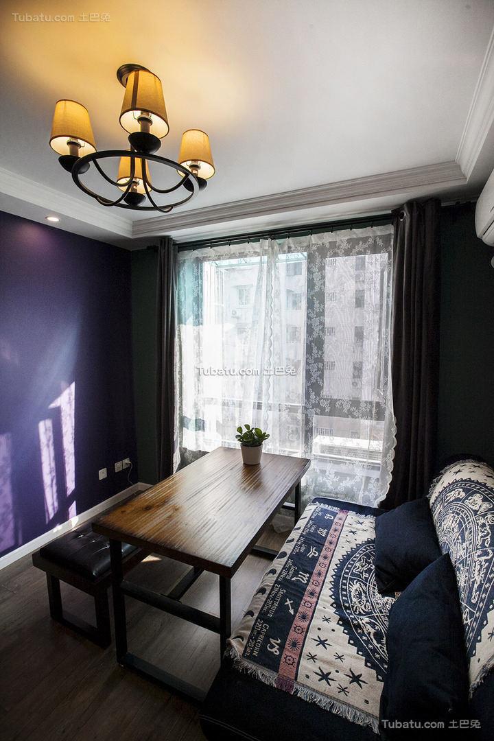 美式古典设计客厅装修效果图