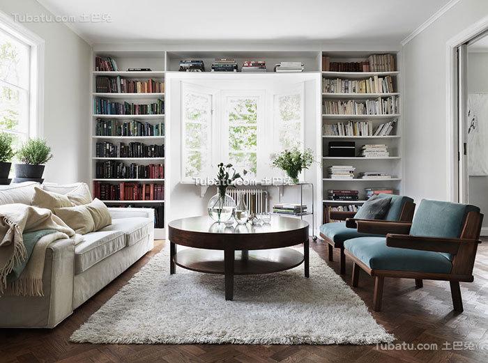 北欧时尚复式家装案例