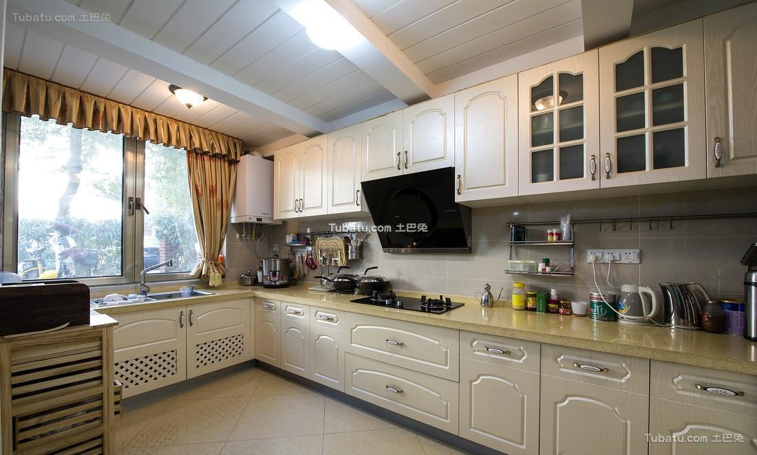 欧式田园家居厨房设计