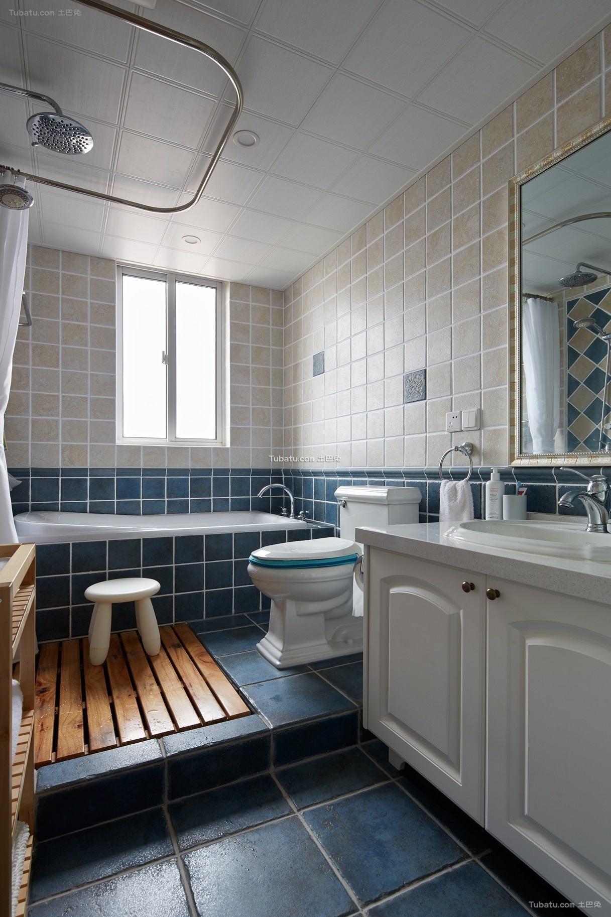 简美卫生间装饰案例