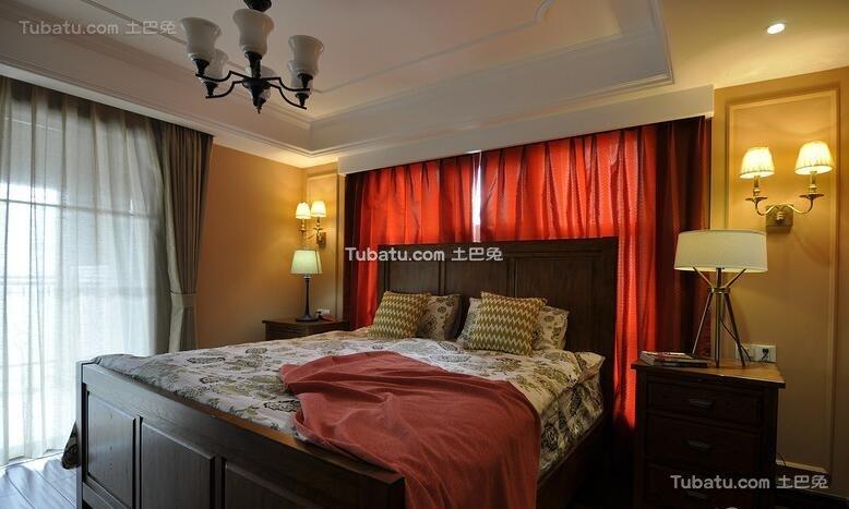 休闲美式卧室欣赏