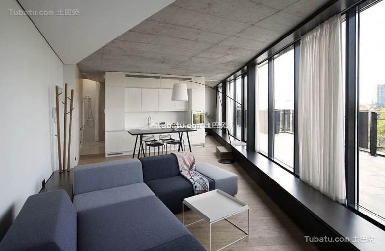 极简小户型室内装修设计效果图片