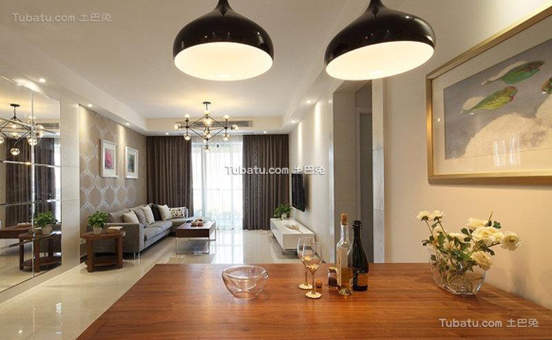 精美宜家风格二居室设计