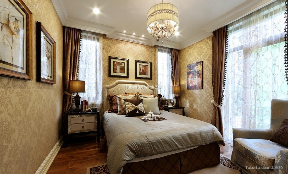 贵气欧式豪华卧室布置