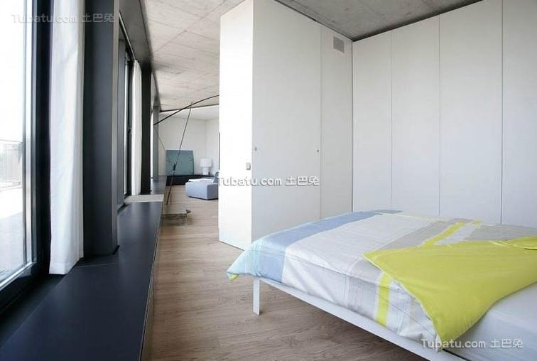 极简小户型室内卧室设计效果图片