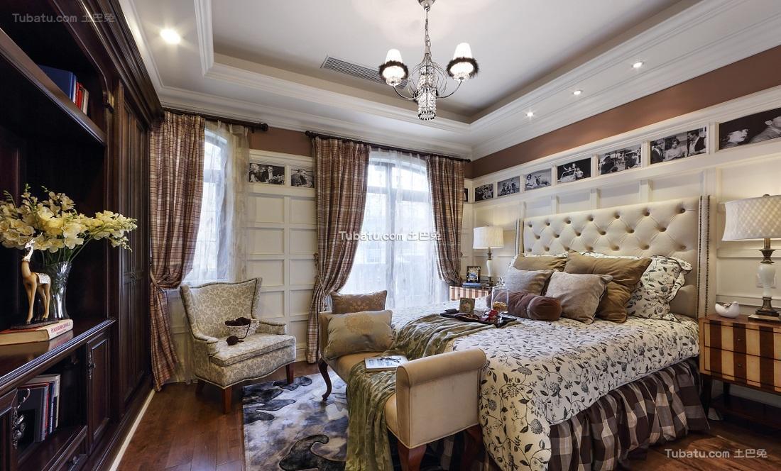 贵气奢华欧式卧室布置