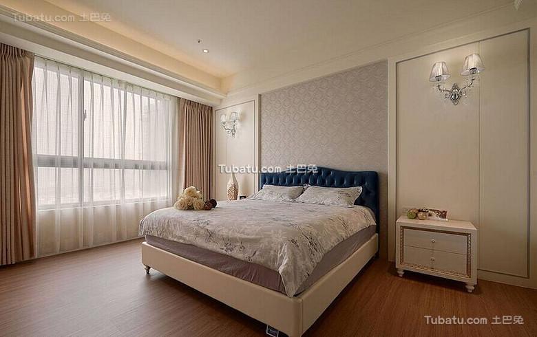 优雅简欧家装卧室装饰