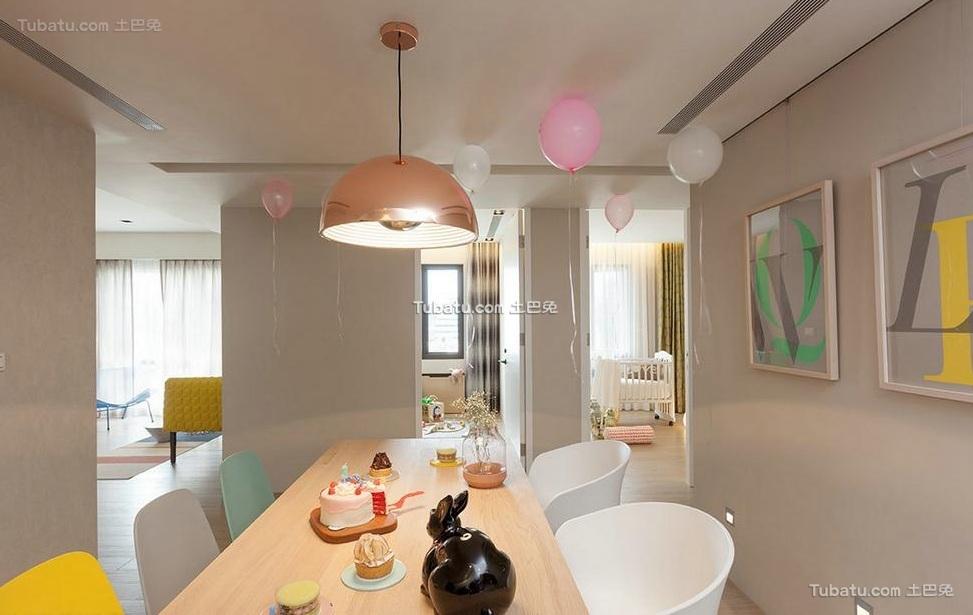 现代简约设计餐厅室内效果图