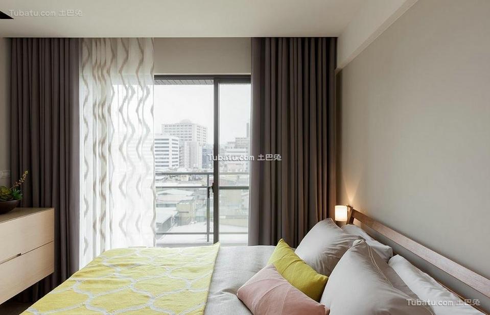 现代简约设计卧室室内效果图片欣赏