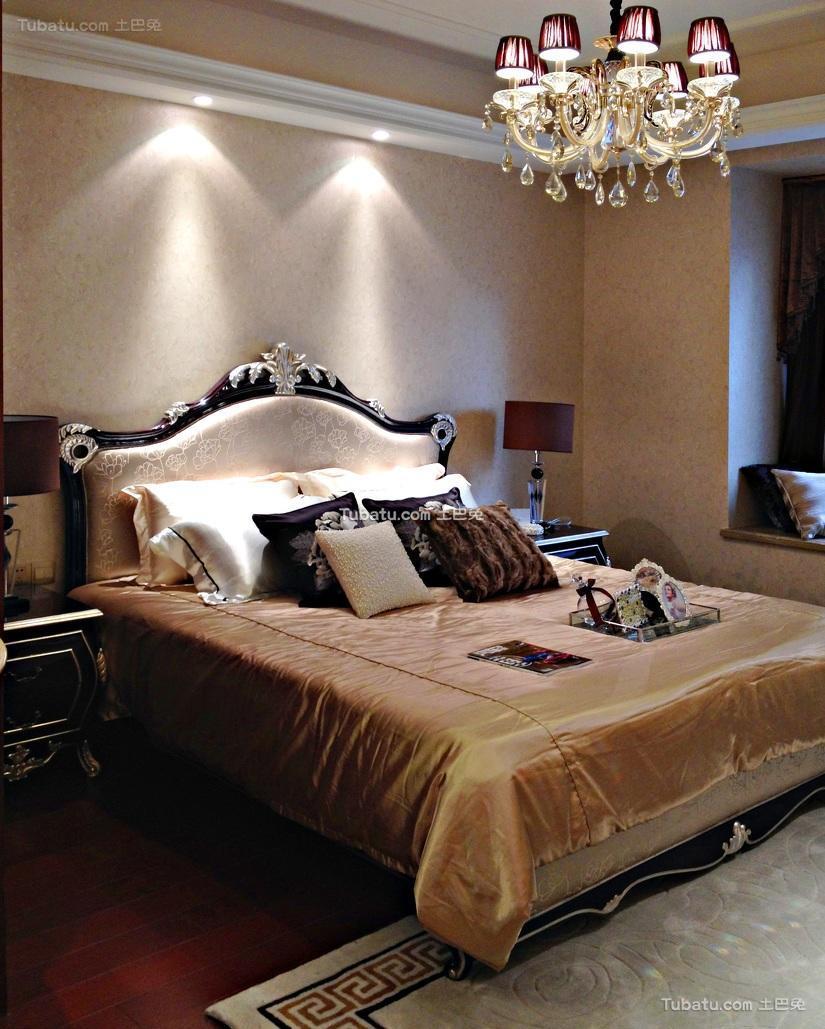 新古典欧式卧室装潢欣赏